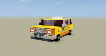 Yellow Cab Minecraft Map & Project