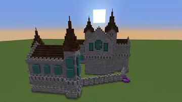 1.16.4 castle Minecraft Map & Project