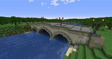 Beaux-Arts Stone Bridge Minecraft Map & Project