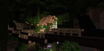 Jungle Garden House Minecraft Map & Project