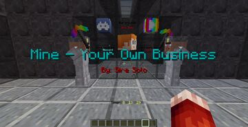 Mine - Your Own Business for Minecraft 1.17.1 Minecraft Map & Project