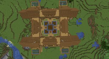 20 subscribers mark Minecraft Map & Project