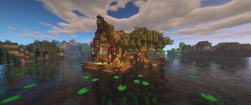 Swamp House Build - Creative Builds Series Minecraft Map & Project