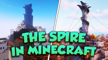 Fortnite - The Spire + Download Minecraft Map & Project