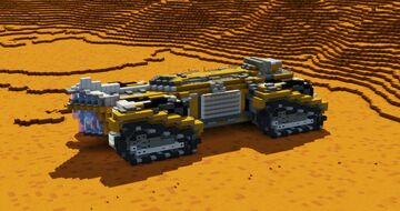 SF tracked cargo vehicle Minecraft Map & Project