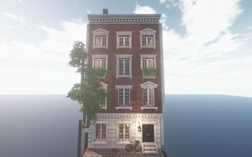 English Townhouse - Used with Cocricot mod - Built by JustParis Minecraft Map & Project