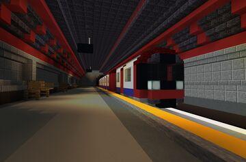 Jubilee Line Minecraft Map & Project