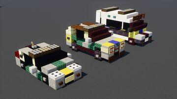 London Metropolitan Police 3 Car Pack Minecraft Map & Project