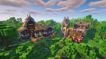 Fantasy Alternative Structure Minecraft Map & Project