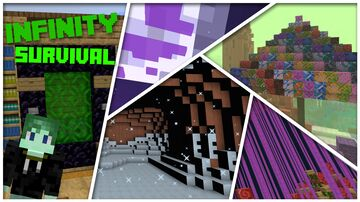 Infinity Survival Minecraft Minecraft Map & Project