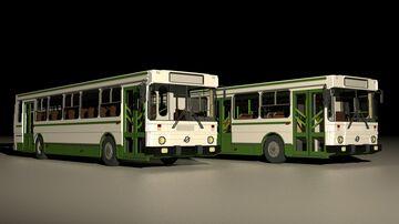 LiAZ-5256 - Soviet bus Minecraft Map & Project