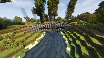 Diagonal Bridge Minecraft Map & Project