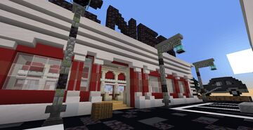 Bedwars map Diner Minecraft Map & Project