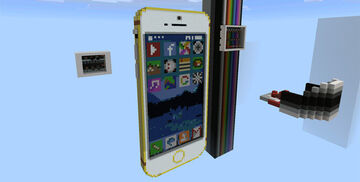 Working iPhone 6 [Redstone] (1.0.5+ Only!) Minecraft Map & Project