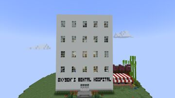 (1.17) oxygen's mental hospital + kaia's bar and grill Minecraft Map & Project