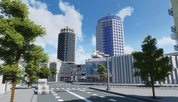 Dizengoff Center - Shopping Mall in Tel Aviv Minecraft Map & Project