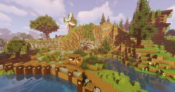 Survival Spawn [Free Download] Minecraft Map & Project