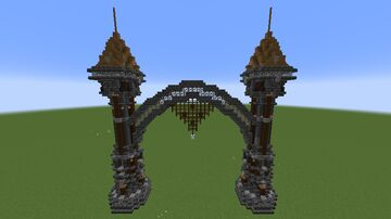 Grand Archway Minecraft Map & Project