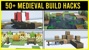 ⚒️ Minecraft 50+ Medieval Build Hacks You Need to Know Minecraft Map & Project
