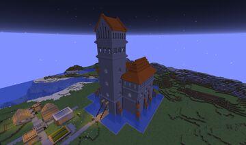 "Lithuanian wonder ""Trakai Island Castle"" Minecraft Map & Project"