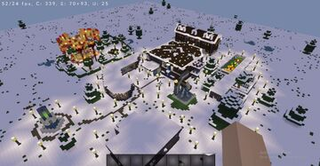 A Modern House with its Property Minecraft Map & Project