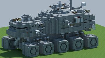 StarWars HAVw A6 Juggernaut [With Download] Minecraft Map & Project