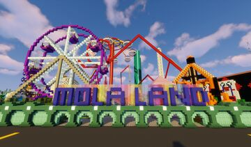 Amusement Park Hunt Minecraft Map & Project