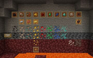 1.17 Information Minecraft Map & Project
