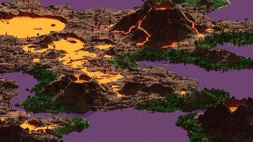 Vancelle - 10000x10000   Landscape Map 1.16 Minecraft Map & Project