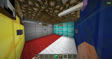 find the button 1 Minecraft Map & Project