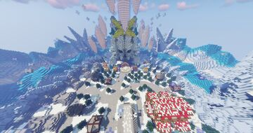 Oasis Winter Pixelmon Spawn- Gym - City - Town ( Completed Commission by Magma ) Minecraft Map & Project