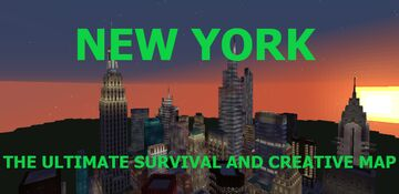 New York City 1/3 Scale (Updated) Minecraft Map & Project