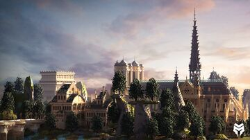 Gothic themed Spawn Minecraft Map & Project