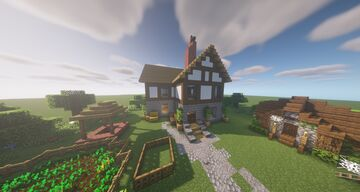 Farm House - Schematic - Map - World Minecraft Map & Project