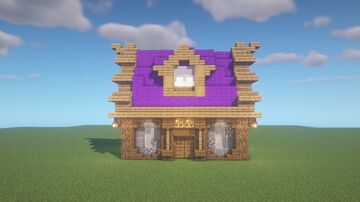 Cute Starter House Minecraft Map & Project