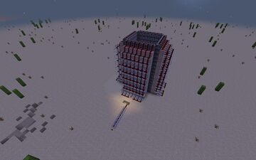Super player launcher Minecraft Map & Project