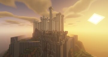 Castel, Erathia Style City by QbaQ, HoMM III inspiration Minecraft Map & Project