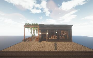 Korean Cafe - With Cocricot mod - By JustParis Minecraft Map & Project