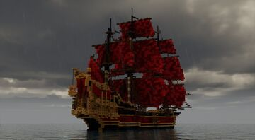 Queen Anne's Revenge Minecraft Map & Project