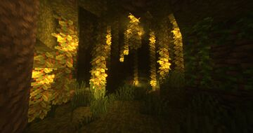 Lush Cave Geode Minecraft Map & Project