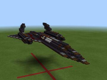 SR-71 BlackBird 1.5:1 Minecraft Map & Project