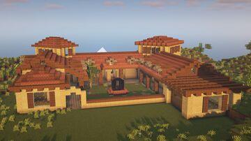 Mediterranean House #1 Minecraft Map & Project