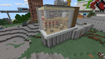 Community Library Minecraft Map & Project