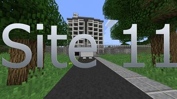 Site 11 (SCP roleplay map) Minecraft Map & Project