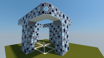 Big Modern Building complex Minecraft Map & Project