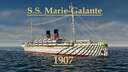 S.S. Marie-Galante 1907 Minecraft Map & Project
