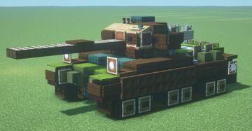 Centurion Mk. X (1.5:1 scale) Minecraft Map & Project