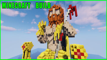 Minecraft Build   Statue of Zeus at Olympia Minecraft Map & Project