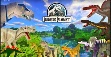 Jurassic Planet V2 Map Download for Minecraft Bedrock and Minecraft Pe Minecraft Map & Project