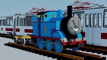 Thomas the Tank Engine Minecraft Map & Project